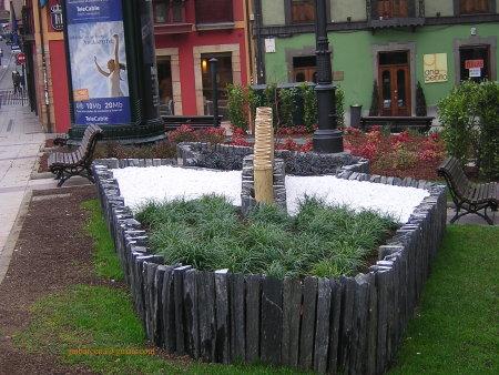 jardín urbano oviedo