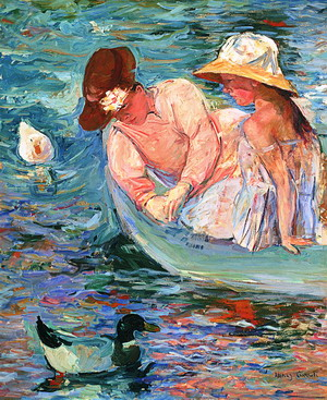 Mary Cassatt (1844-1926).Verano (Summertime), 1894© Terra Foundation for American Art, Chicago, Colección Daniel J. Terra