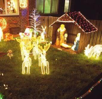 I jardineros com decoraci n navide a en el jard n i - Decoracion navidena para exteriores ...