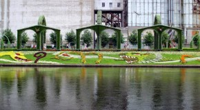 Arte en el jardín