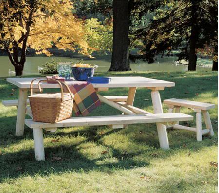 Imagen, espacio para socializar en el jardín.