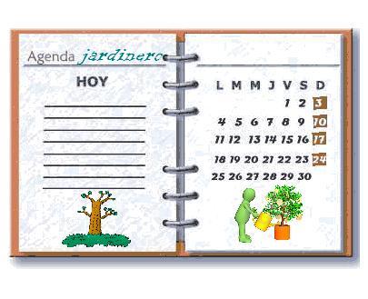 agenda de jardinero
