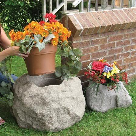 I jardineros com macetas y adornos los temas i for Adornos para macetas